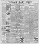 Portland Daily Press: November 21, 1895
