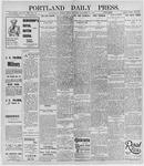 Portland Daily Press: November 22, 1895