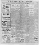 Portland Daily Press: November 25, 1895