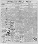 Portland Daily Press: November 26, 1895
