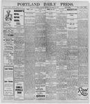 Portland Daily Press: November 28, 1895