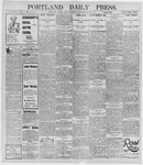 Portland Daily Press: November 29, 1895