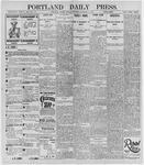 Portland Daily Press: December 2, 1895
