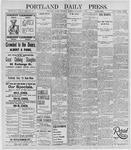 Portland Daily Press: December 5, 1895