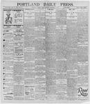 Portland Daily Press: December 6, 1895