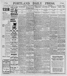Portland Daily Press: December 7, 1895