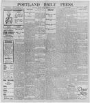 Portland Daily Press: December 9, 1895