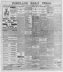 Portland Daily Press: December 16, 1895