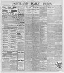 Portland Daily Press: December 17, 1895