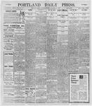 Portland Daily Press: December 21, 1895