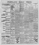 Portland Daily Press: December 24, 1895