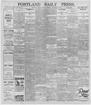Portland Daily Press: December 26, 1895