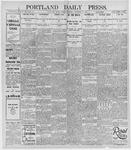 Portland Daily Press: December 27, 1895