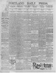Portland Daily Press: January 1, 1896