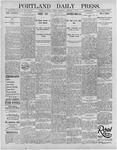 Portland Daily Press: January 3, 1896