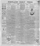 Portland Daily Press: January 6, 1896