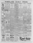 Portland Daily Press: January 8, 1896