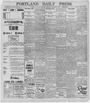 Portland Daily Press: January 9, 1896