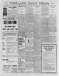Portland Daily Press: January 11, 1896