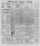 Portland Daily Press: January 13, 1896
