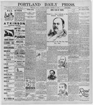 Portland Daily Press: January 16, 1896