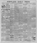 Portland Daily Press: January 17, 1896