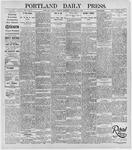 Portland Daily Press: January 21, 1896