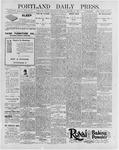 Portland Daily Press: January 22, 1896