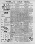 Portland Daily Press: January 23, 1896