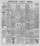 Portland Daily Press: January 27, 1896