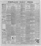 Portland Daily Press: January 28, 1896
