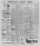 Portland Daily Press: January 29, 1896