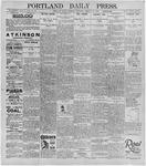 Portland Daily Press: January 30, 1896