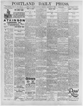Portland Daily Press: February 6, 1896