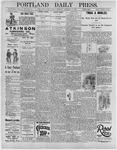 Portland Daily Press: February 7, 1896