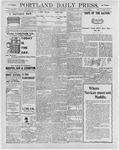 Portland Daily Press: February 8, 1896