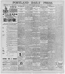 Portland Daily Press: February 10, 1896