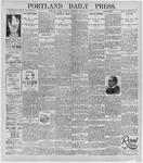 Portland Daily Press: February 11, 1896