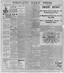 Portland Daily Press: February 13, 1896