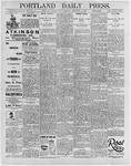 Portland Daily Press: February 14, 1896