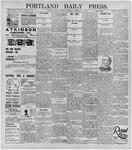 Portland Daily Press: February 18, 1896