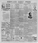 Portland Daily Press: February 21, 1896