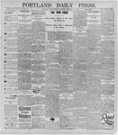 Portland Daily Press: February 24, 1896