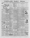 Portland Daily Press: February 27, 1896
