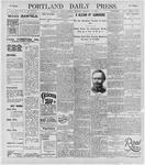 Portland Daily Press: February 29, 1896