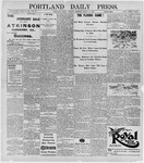 Portland Daily Press: March 2, 1896