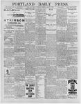 Portland Daily Press: March 5, 1896