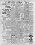 Portland Daily Press: March 6, 1896