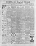 Portland Daily Press: March 7, 1896