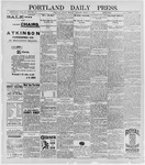 Portland Daily Press: March 9, 1896